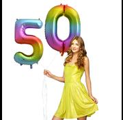 Cijfer ballon 50
