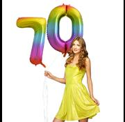 Cijfer ballon 70