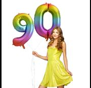 Cijfer ballon 90