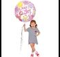 Roze baby ballon girl