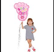 Baby voetjes ballon