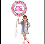 Geboorte ballon baby girl