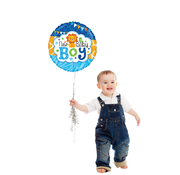 Baby boy folieballon