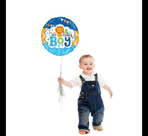 Baby boy folieballon