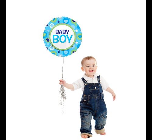Helium Baby boy ballon