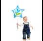 Helium Baby boy ster ballon