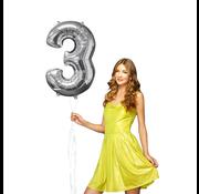 Ballon cijfer 3