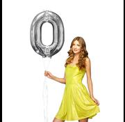 Cijfer 0 ballon