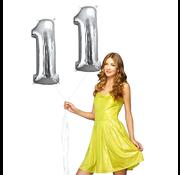 Helium ballonnen cijfers 11