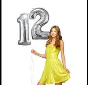 Helium ballonnen cijfers 12