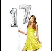 Helium ballonnen cijfers 17