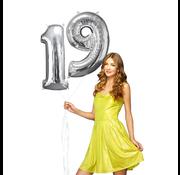 Helium ballonnen cijfers 19