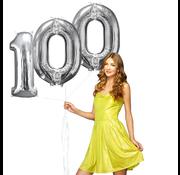 Helium ballonnen cijfers 100