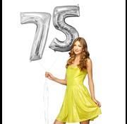 Helium ballonnen cijfers 75