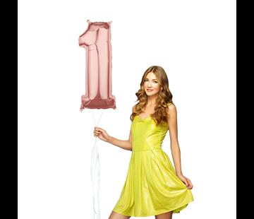 Helium cijfer ballon 1