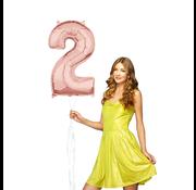 Helium cijfer ballon 2