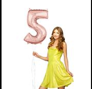 Helium cijfer ballon 5