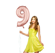 Helium cijfer ballon 9