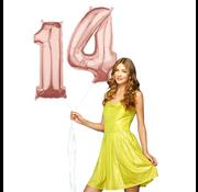 Helium Cijfer ballonnen 14