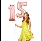 Helium Cijfer ballonnen 15
