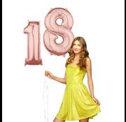 Helium cijfer ballonnen 18