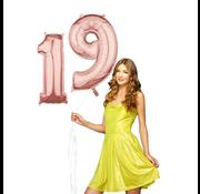 Helium cijfer ballonnen 19