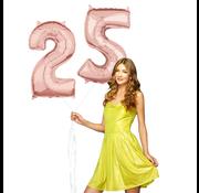 Helium cijfer ballonnen 25