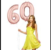 Helium cijfer ballonnen 60