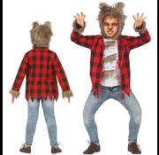 Weerwolf jongens pak