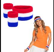 Zweetbandjes Nederlandse 3 kleur