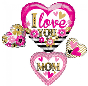 I love you mom folieballon
