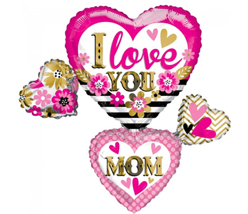 I love you mom folieballon