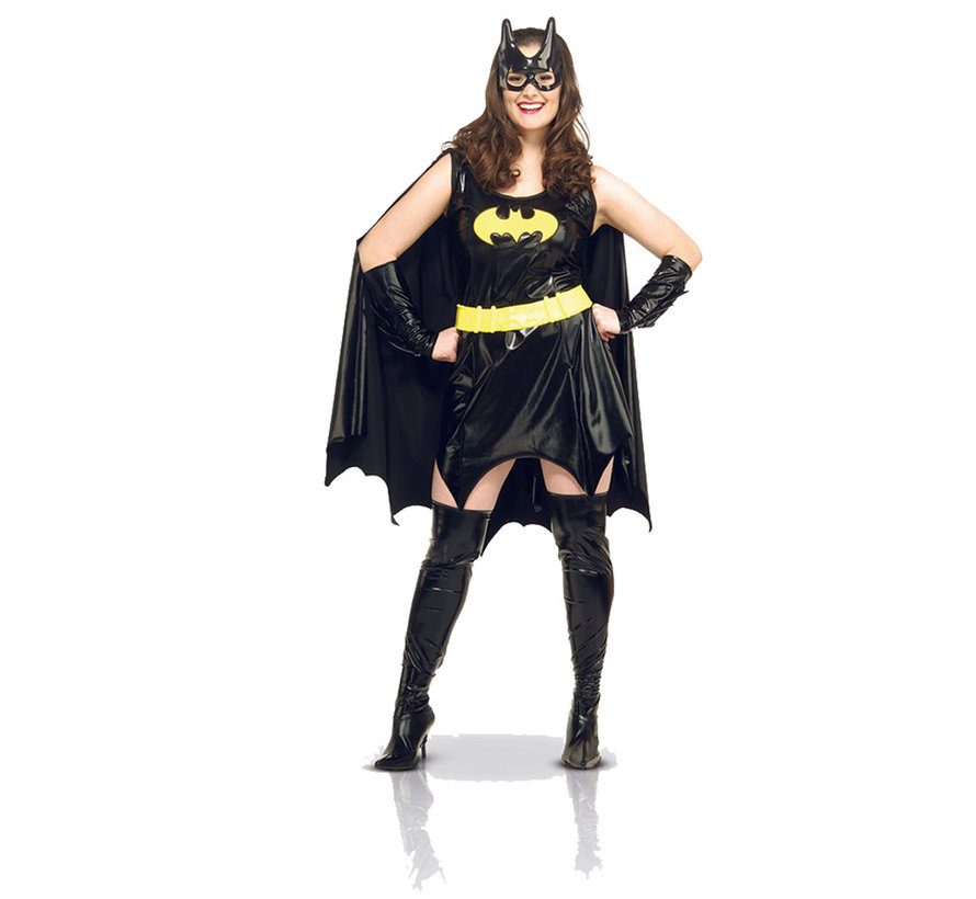 Batgirl kostuum volwassenen dames