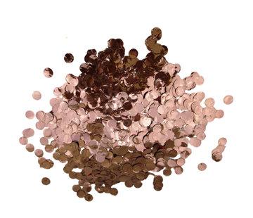 Confetti rosé-goud