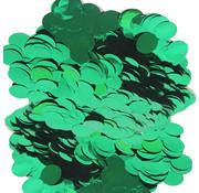 Confetti metallic groen