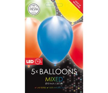 led ballonnen assorti