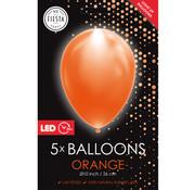 led ballonnen  oranje