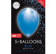 led ballonnen blauw