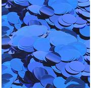 Confetti metallic blauw