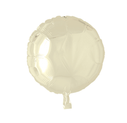 Folieballon rond ivory