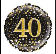Folie-ballon 40 jaar
