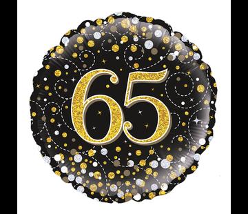 Folie-ballon 65  jaar