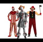 Horror clown kostuums en accessoires
