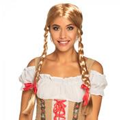 Oktoberfest Pruik Heidi