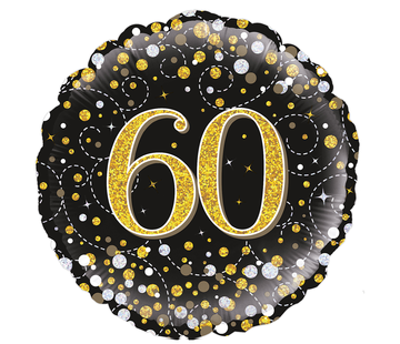 Folie-ballon 60 jaar