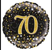 Folie-ballon 70  jaar