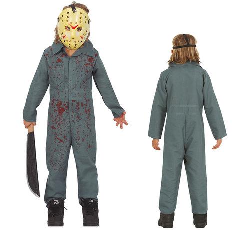 Jason kostuum kind in 3 maten