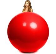 Mega ballon rood 100 cm Ø