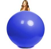 Mega ballon blauw 100 cm Ø
