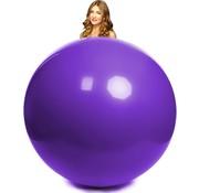 Mega ballon paars 100 cm Ø